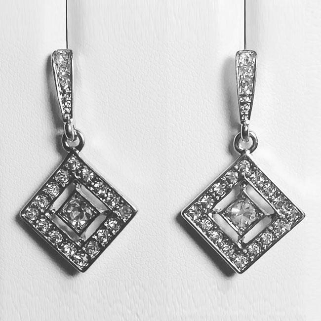 Sparkle Double Diamond Crystal
